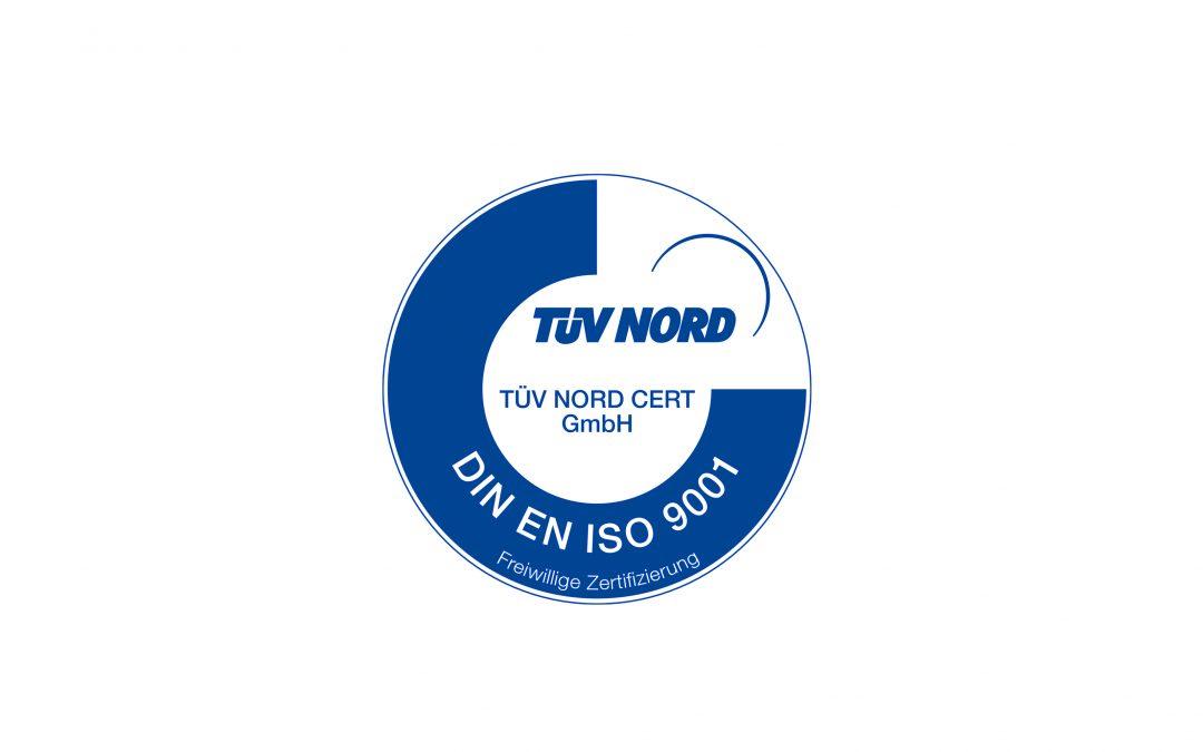 K&H Zerspanung erhält TÜV DIN EN ISO 9001:2015 Zertifikat